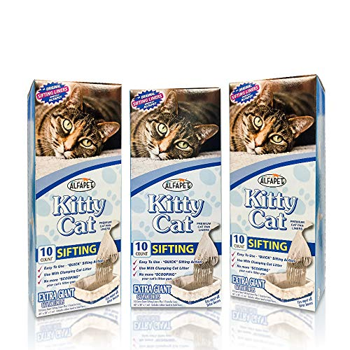 ALFAPET KITTY SIFTING LITTER BOX LINERS