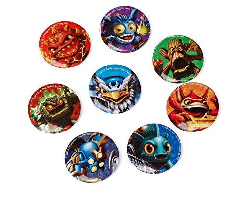 American Greetings Skylanders Buttons (8-Count)