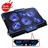 KEYNICE Laptop Cooling Pad, Notebook Cooler with 6 Quiet Fan, Dual USB Port, 5...