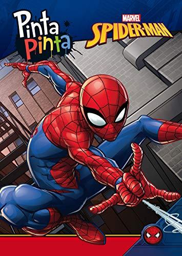 Spider-Man. Pinta Pinta: Libro para colorear
