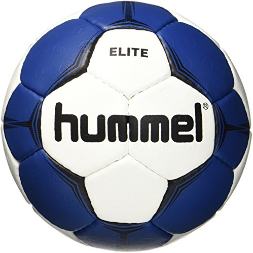 Hummel Kinder Smu Elite HB Handball, White/Blue, 1