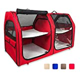One for Pets Cat Show House Portable Dog Kennel (Shelter)...