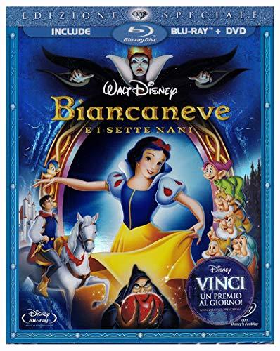 Biancaneve e i Sette Nani EDIZIONE SPECIALE Slipcase 2 DISCHI BLU-RAY+DVD