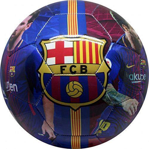 FCBARCELONA Messi Balón Fútbol Infantil, Juventud Unisex ...