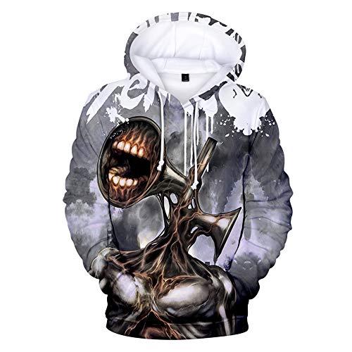 Jimmar Siren Head Hoodie Sweatshirts Pullover Unisex Trainingsanzug