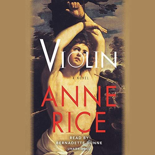 Violin audiobook cover art