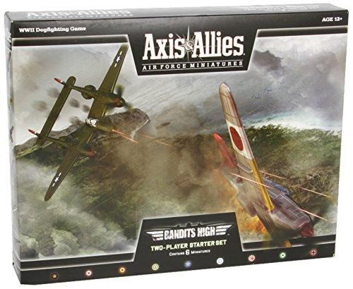 Wizards of the Coast Axis & Allies Air Force Miniatures: Bandits High Starter: Starter, Set 2