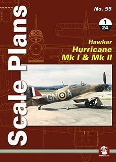 Hawker Hurricane Mk I & Mk II 1/24 (Scale Plans)