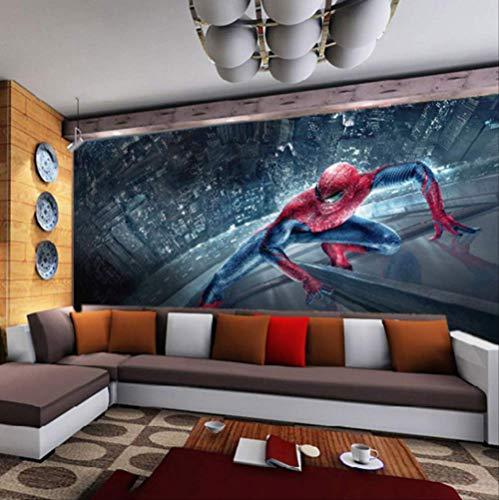 Marvel Spiderman Kinder Jungen Kinder Fototapete Benutzerdefinierte 3d-tapete Superhelden Wandbilder Kunst Interieur Schlafzimmer Raumdekor