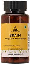 The Blessing Tree Brain Supplement with Bacopa(Brahmi) and Shankhpushpi (Supports Memory, Focus and Clarity)- 1000mg per serving- 90 veg capsules