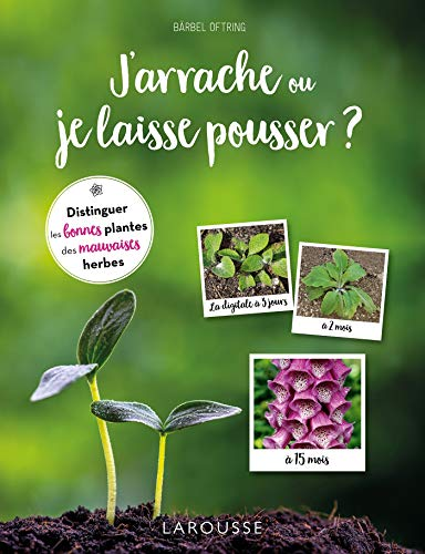 Jarrache ou je laisse pousser ?: Distinguer les bonnes plantes des mauvaises herbes