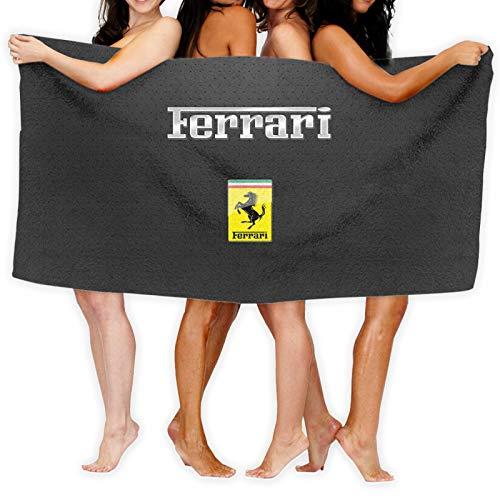 Large Puzzle Ferrari - Toalla de yoga antideslizante de microfibra absorbente de sudor y secado rápido, ideal para yoga caliente, pilates y entrenamiento