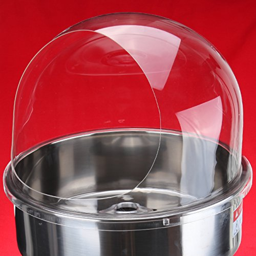 Cuisinairre Bubble 21-Inch Clear Plastic Bubble for Cotton Candy Floss Machine