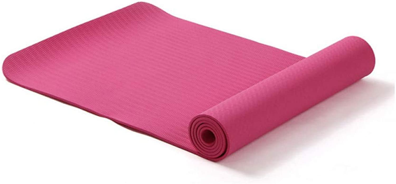 EYCFSJ Yogamatte Mit Position Line Anti-Rutsch-Teppichmatte Für Anfnger Umweltfreundliche Fitness-Gymnastik-Matte 1830  610  6Mm,