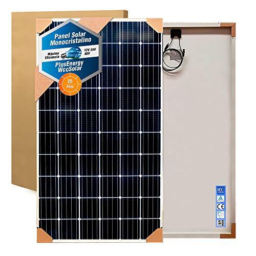 Desconocido Placa Solar 250w Panel Solar Monocrystalline 60 Celulas Negro