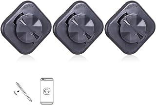 Feketeuki Support de Support de Guidon de v/élo Universel pour t/él/éphone Portable Noir