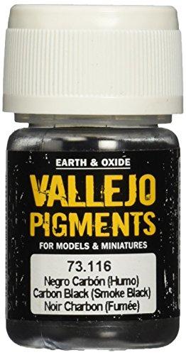 Vallejo (30ml Pigmente–Carbon Smoke