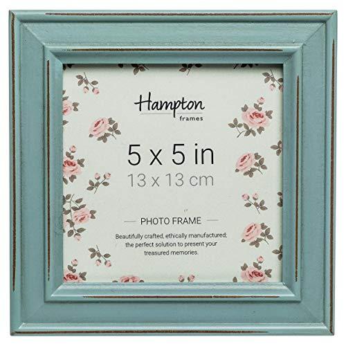 Hampton Frames Bilderrahmen, quadratisch, blau, 5x5 (13x13cm)