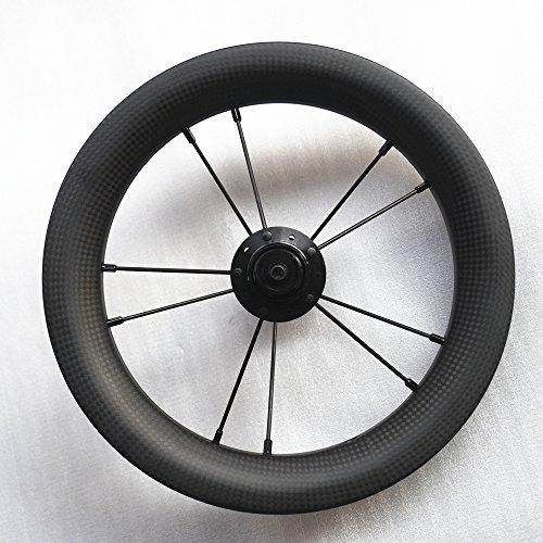 SMC 12inch 203 Kohle faser Laufräder für Strider or Kind Balance Fahrrad (3K Matte)