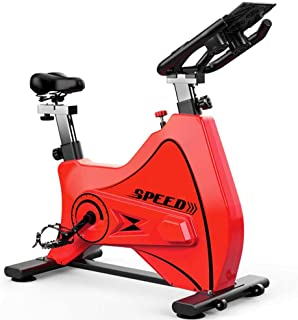 Exercise Bike, Stationary 550 Lbs Weight Capacity Spinning Bike, Indoor Cycling Bike with Comfortable Seat Cushion, Tablet...