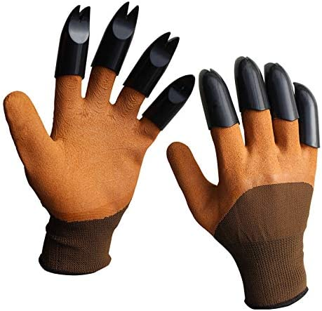 Garden Gloves with Claws Breathable Waterproof Garden Gloves for Digging and Planting Breathable product image