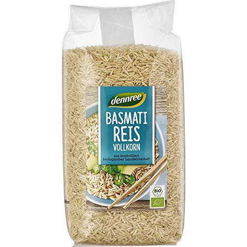 dennree Bio Basmati-Reis Vollkorn (6 x 1 kg)
