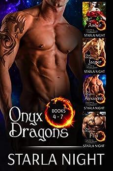 Onyx Dragons Boxed Set 2 (7 Virgin Brides for 7 Weredragon Billionaires) by [Starla Night]
