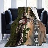 Kuscheldecke Erwachsene Kinder Männer Frauen Weiche Decke wirft I-a-n So-mer-hal-der 3D-Druck Dekorative Tagesdecke Weihnachten für Couch Bett Sofa Fleece Plüsch Decke die ganze Saison (125cmx100cm)