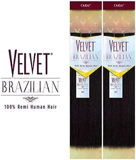 Outre Velvet Brazilian 100% Remi Human Hair Weave - YAKI (16