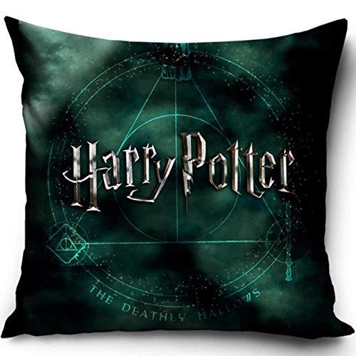 Harry Potter HP182006 - Cojín decorativo con relleno (40 x 40 cm)
