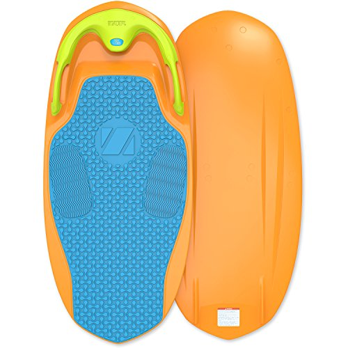 ZUP YouGo Board, All-in-One Kneeboard, Wakeboard, Wakeskate, and Wakesurf Board for All Ages, Orange