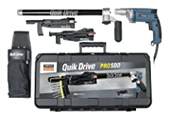 Auto Feed Driving System Complete System for fastening decks, subfloor, drywall and sheathing. Makita Professional Screwgun Included Limited Lifetime Warranty on Drive Head No tools needed to set up or break down tool system
