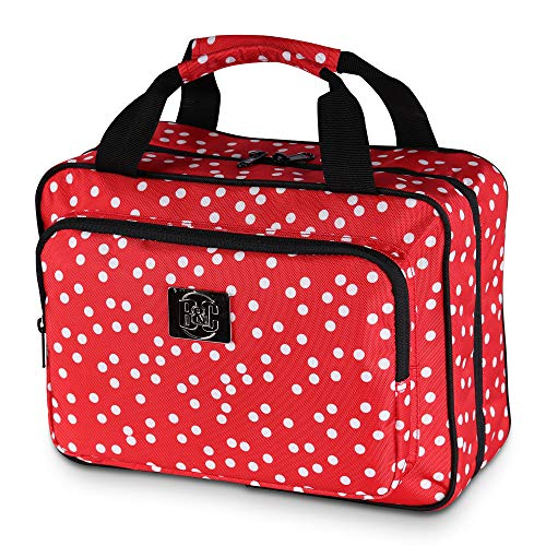 Large Travel Cosmetic Bag For Women - XL Hanging Travel Toiletry...