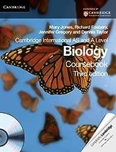Cambridge International AS and A Level Biology Coursebook with CD-ROM (Cambridge International Examinations) of Jones, Mary, Fosbery, Richard, Gregory, Jennifer, Taylor, De 3rd (third) Edition on 01 November 2012