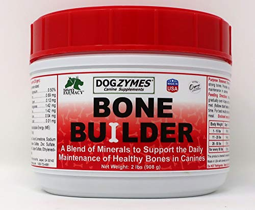 Top 10 best selling list for bone builder supplements for dogs