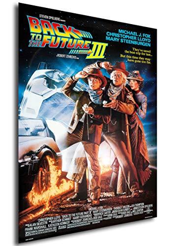 Instabuy Poster Ritorno al Futuro - Parte III Locandina - Formato (42x30 cm)