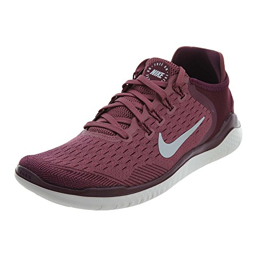 Nike Men's Free Rn 2018 Running Shoe (10 M US, Bordeaux/Wolf Grey)