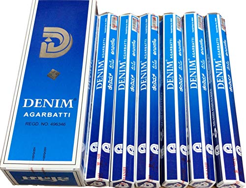 【SHASHI/シャシ】《デニム》へキサパック/インド/お香/インセンス/スティック/6角(20本入)×6箱