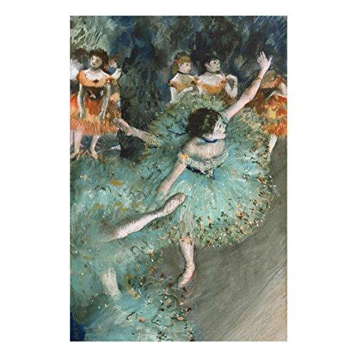 Bilderwelten Cuadro de Cristal Edgar Degas Bailarina basculando (Bailarina Verde) 3:2:120x80cm