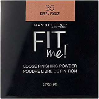 Maybelline Fit Me Loose Finishing Powder, 35 Deep, 0.7 oz (Pack of 2)