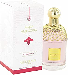Guerlåin Aqüa Allegória Florä Rosä Pèrfume For Women 3.3 oz Eau De Toilette Spray + Free Shower Gel