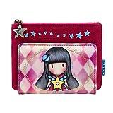 SANTORO GORJUSS Portafoglio piccolo 872GJ03, donna, rosa, 10 x 14 x 1,5 cm