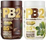 Bell Plantation PB2 Peanut Butter (Powdered) Mix Pack (Original und Chocolate), 1er Pack (1 x 907 g) -