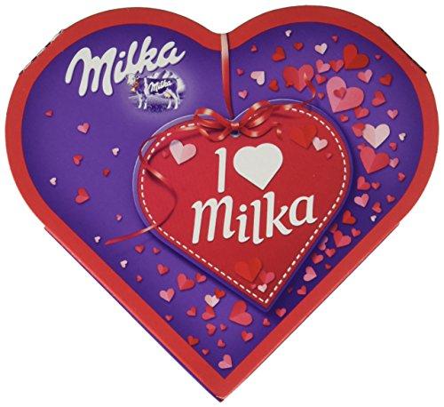 Milka, I love Milka Geschenkherz klein, Romantik, Pralinen (50 g)