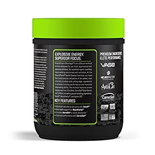 MusclePharm, Wreckage Pre-Workout, Sour Candy, 13.23 oz (375 g) - 51d7ezwvwRL. SS315