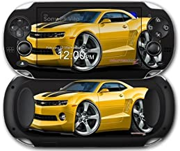 Sony PS Vita Skin 2010 Camaro RS Yellow by WraptorSkinz by WraptorSkinz
