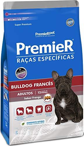 Ração Premier Raças Específicas Bulldog Francês para Cães Adultos, 2,5kg Premier Pet Raça Adulto,