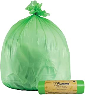 We Care - Bolsas de Basura Biodegradable y Compostable. 0%