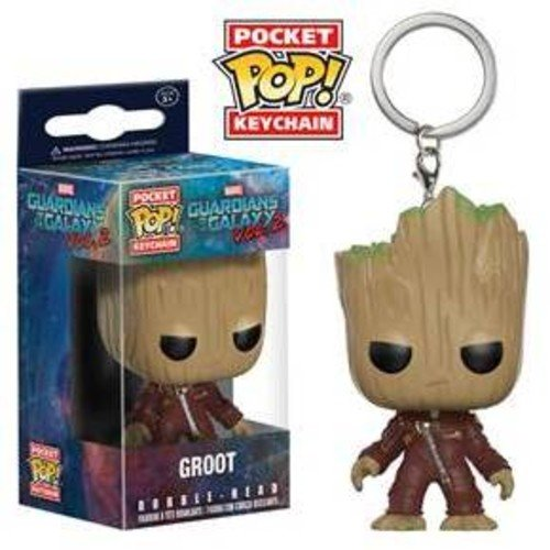 ec684b95 Guardians of the Galaxy Vol 2 Pocket POP! Marvel Ravager Groot Keychain