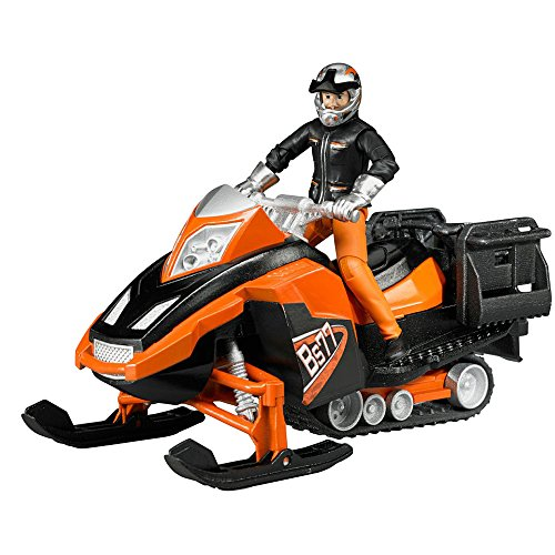 Bruder 63101 - Snowmobil mit Fahrer und Ausstattung